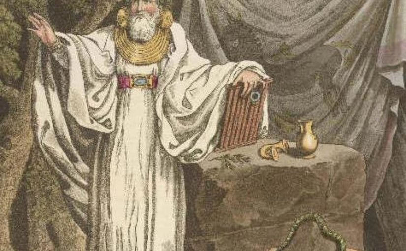 The Earliest Recordings of Druidism As We Know It
