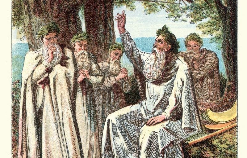 The Ancient Druids And The Practice Of Sacrifice